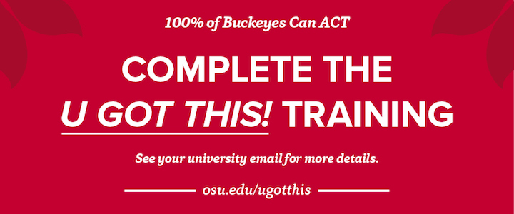 U Got This! Training Available